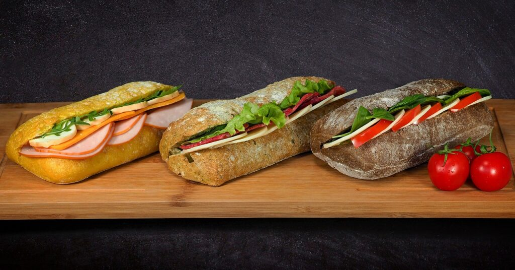 variétés-sandwich